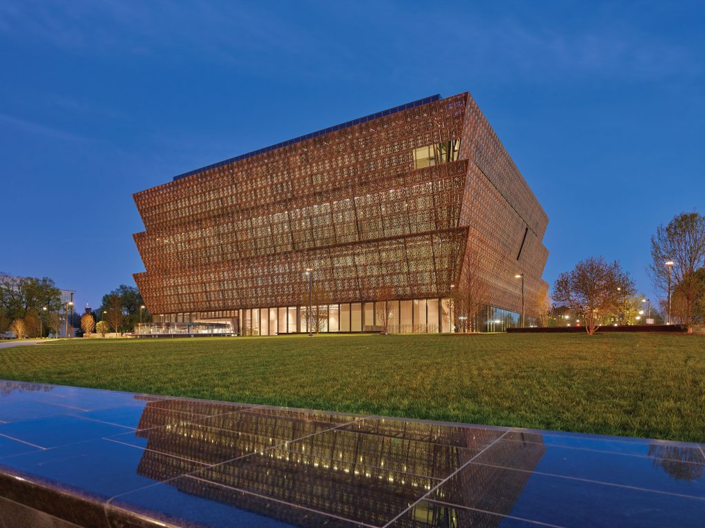 National Museum of African American History and Culture. Photo Credit: ©Alan Karchmer via Smithsonian Institution.