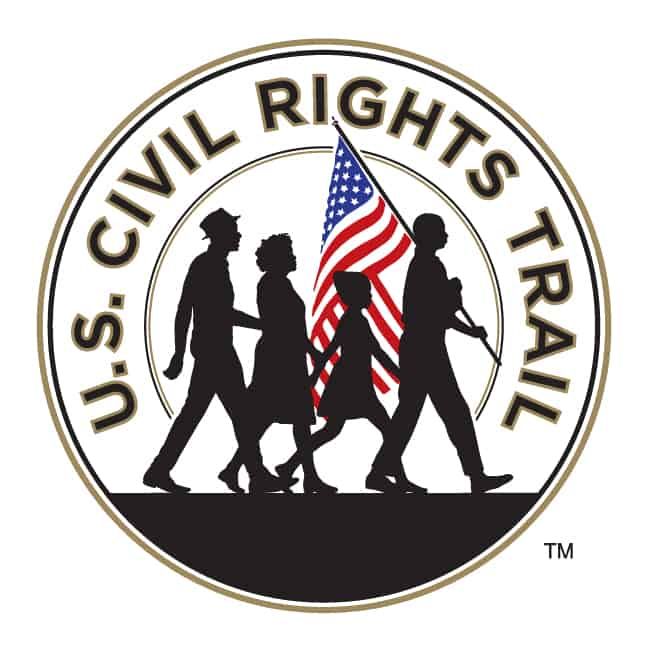 U.S. Civil Rights Trail logo.