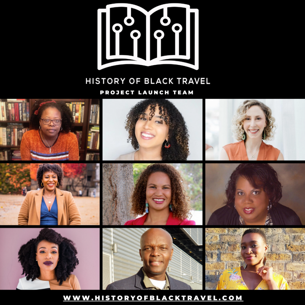 History Of Black Travel project launch team